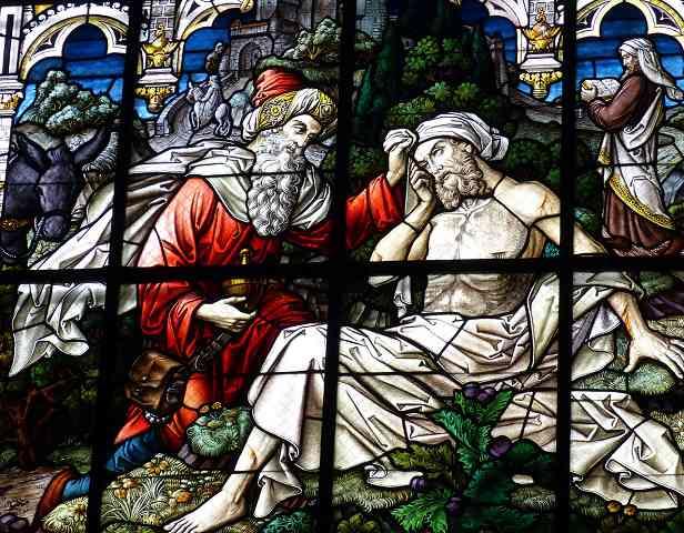 Bild: Kirchenbild Barmheriger Samariter